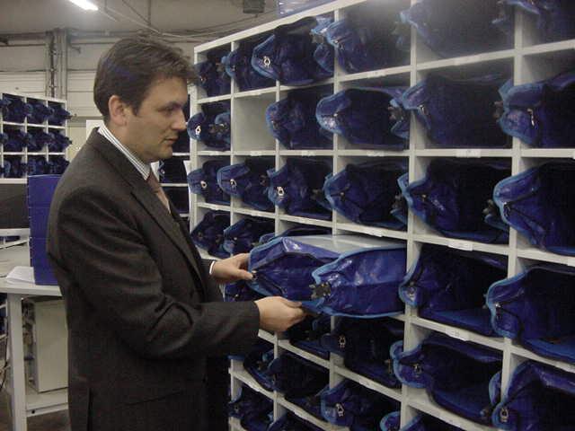 Officebull krautz Temax postregaltasche im Postfach