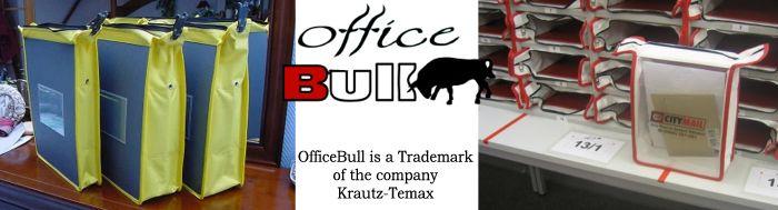 Krautz Officebull postregaltasche Tasche im Postfach Postregal