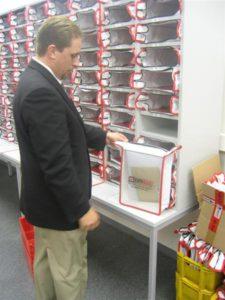 Krautz officebull Postregaltasche Posttasche