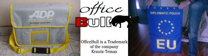 Krautz officebull koeriertas draagtassen