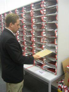 Krautz officebull Postaussortierung in Postregale