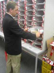 Krautz officebull postregaltasche Postaussortierung