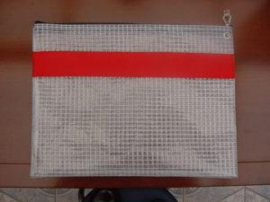 Krautz officebull Posttasche Transparent Durchsichtig